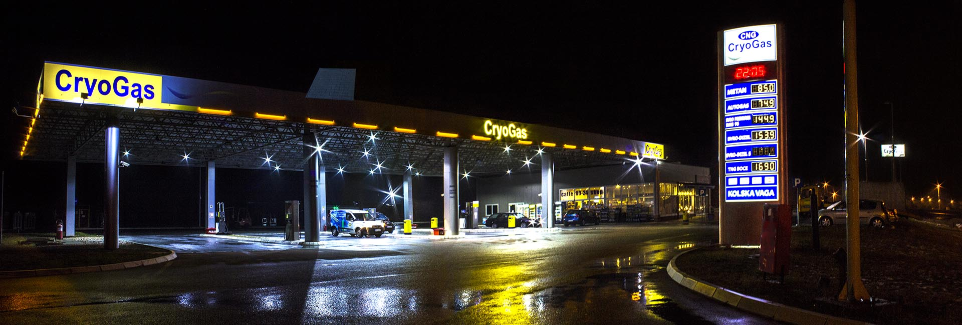 cng metan pumpe | CryoGas