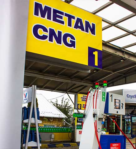 cng methane station | CryoGas